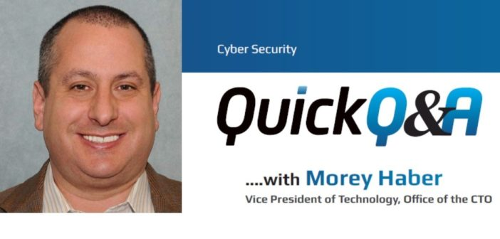 Quick Q&A with Morey Haber